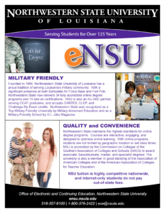 eNSU Military One-Pager